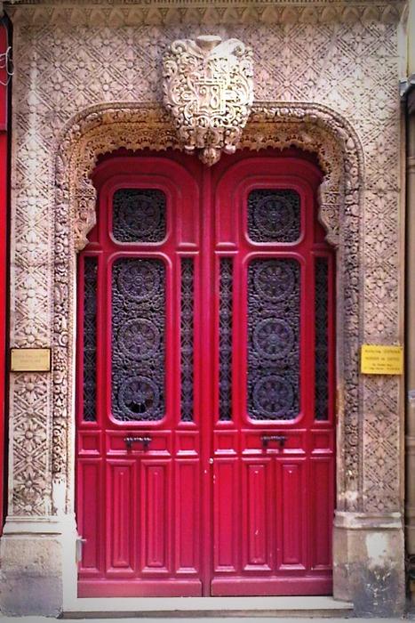 5d9bdc83a54c4425aacb82cca82d3a58 HARLEQUINE DOORS IN PARIS