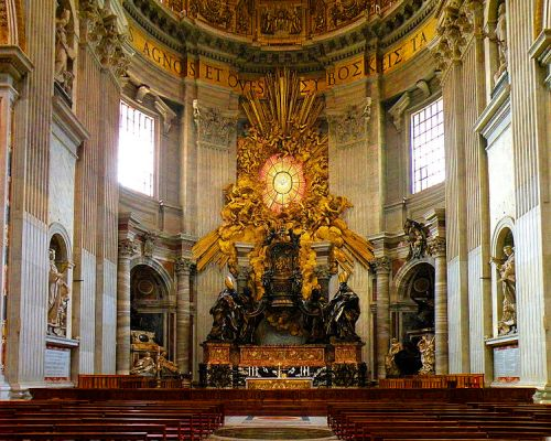 749px-The_Chair_of_Saint_Peter_adjusted