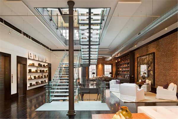 50m loft penthouse i love curiosity for Lofts in nyc for sale